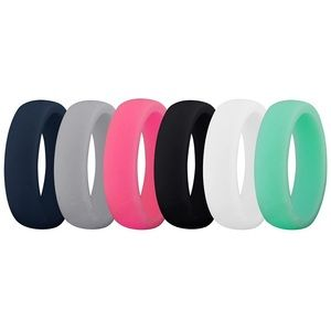 Women's Silicone Ring Set Of Four